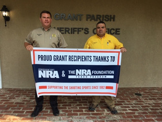 GPSO Receives Grant From National Rifle Association for Firearms Training