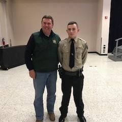 Deputy Justin Rachal Graduates Police Academy