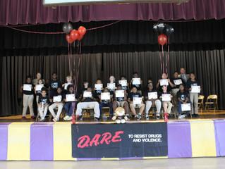 Colfax Elementary Students Graduate D.A.R.E. Program