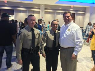 Two GPSO Deputies Graduate Police Academy