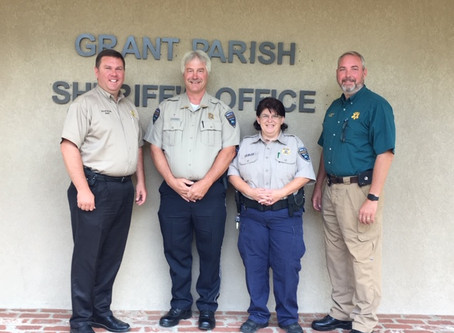 Two GPSO Deputies Successfully Graduate Corrections Academy