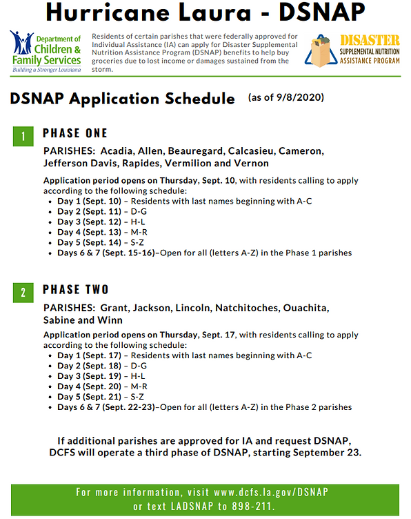 DSNAP Schedule.PNG