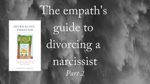 Traps to avoid when divorcing a narcissist