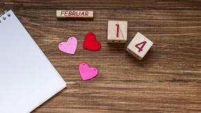 Valentine's Day journaling challenge