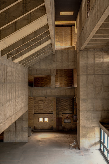 Premabhai Hall by BV Doshi