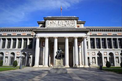 El Museo Nacional del Prado, en Madrid (España) / The Museo Nacional del Prado, in Madrid (Spain)