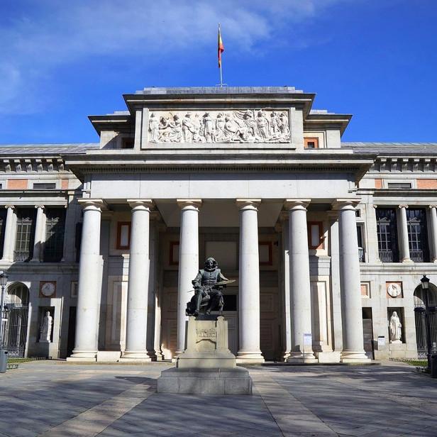 El Museo Nacional del Prado, en Madrid (España)