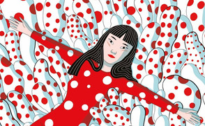 En imágenes | La colorida vida de Yayoi Kusama recibe el tratamiento de novela gráfica