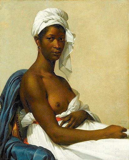 Marie Guillemine Benoist Retrato de Madeleine © RMN-Grand Palais (Musée du Louvre) / Gérard Blot
