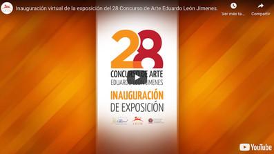 Abre exposición 28 Concurso de Arte Eduardo León Jimenes / Recorridos virtuales en 360 grados.