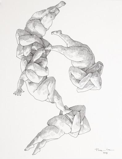 """Diálogo somático / """"El dibujo como forma de expresar sus experiencias más íntimas"""""""