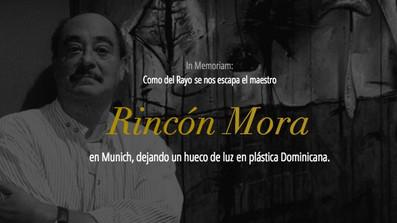 Muere, pintando en su taller en Munich, Rincón Mora, maestro de la plástica / Die, painting in his s
