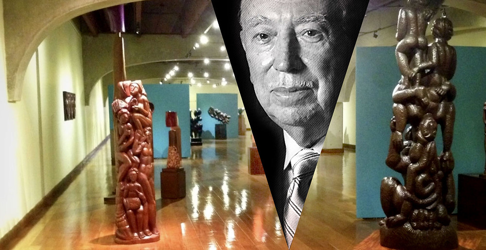 #Juan José Bellapart en su Museo Bellapart, Sto. Dgo.