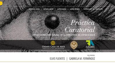 TALLER: PRÁCTICA CURATORIAL FACILITADORES: ELVIS FUENTES   GABRIELA M. FERNÁNDEZ    WORKSHOP: CURA