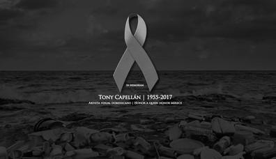 Muere el artista plástico Tony Capellán | The artist Tony Capellán dies