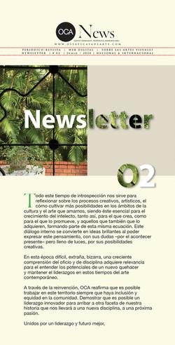 OCA|Newsletter / 02 / Julio, 2020
