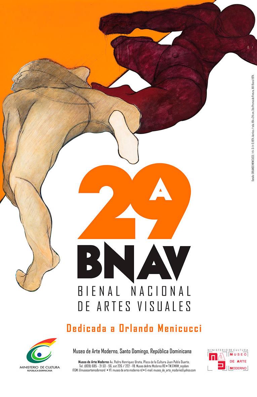 Ministerio de Cultura presenta obras seleccionadas 29.ª Bienal Nacional de Artes  Visuales / MAM