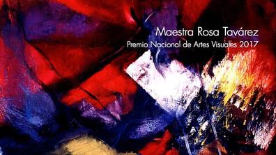 Maestra Rosa Tavárez Premio Nacional de Artes Visuales 2017 | Maestra Rosa Tavárez National Award fo