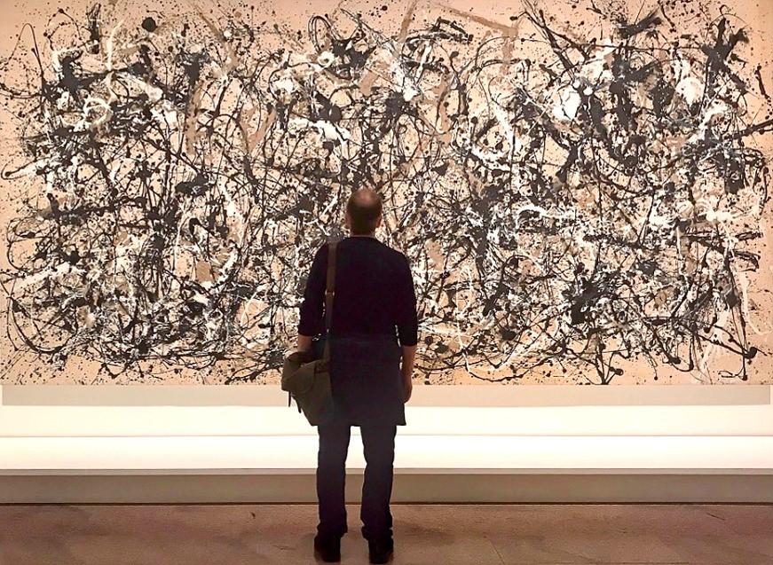 Pollock / Ritmo de otoño (Número 30),1950