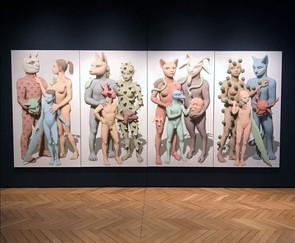 Celebrando el Premio Artístico Pierre Monestier de la prestigiosa Fundación Simone et Cino Del Duca