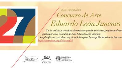 27 Concurso de arte Eduardo León Jimenes / Santiago, RD.    27 Eduardo León Jimenes Art Contest / Sa