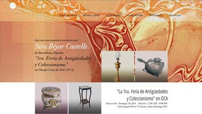 "Sira Béjar Castells, de Barcelona  ""1ra. Feria de Antigüedades y Coleccionismo"" en OCA   Sira B"