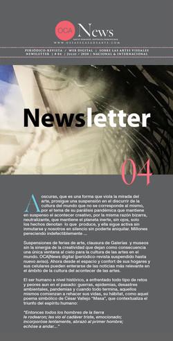 OCA|Newsletter 04 Agosto, 2020