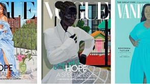 Para las revistas brillantes, el arte negro, ahora importa