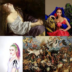 Grimes, FKA Twigs y otras estrellas del pop están dando lecciones gratuitas de historia del arte