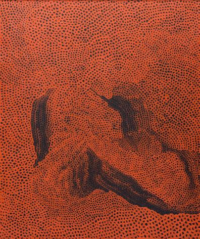 Actuación irregular para pinturas invisibles de Yayoi Kusama en Bonhams New York,  obras en papel