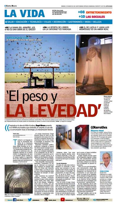 'El peso y la levedad' Inspirada en la obra de Milán Kundera, Ángel Rivera presenta en el MAM una mu