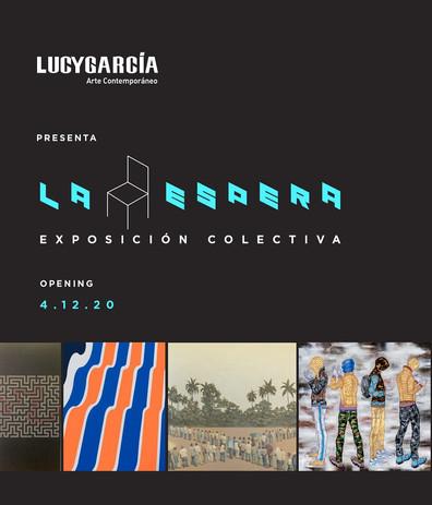 """Lucy García   Arte Contemporáneo.    Presenta: """"La Espera"""""""