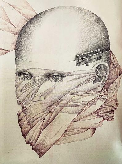 Teté Marella: Cuando el sentimiento decide dibujar la mano toma un lápiz, y con un trazo instintivo