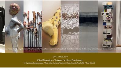 Otra Dimensión / Nueva Escultura Dominicana / 15 Expositores Contemporáneos / Museo Fernando Pena De