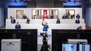 La venta nocturna en línea de Sotheby's Global Hybrid se dispara a $ 363.2 millones.