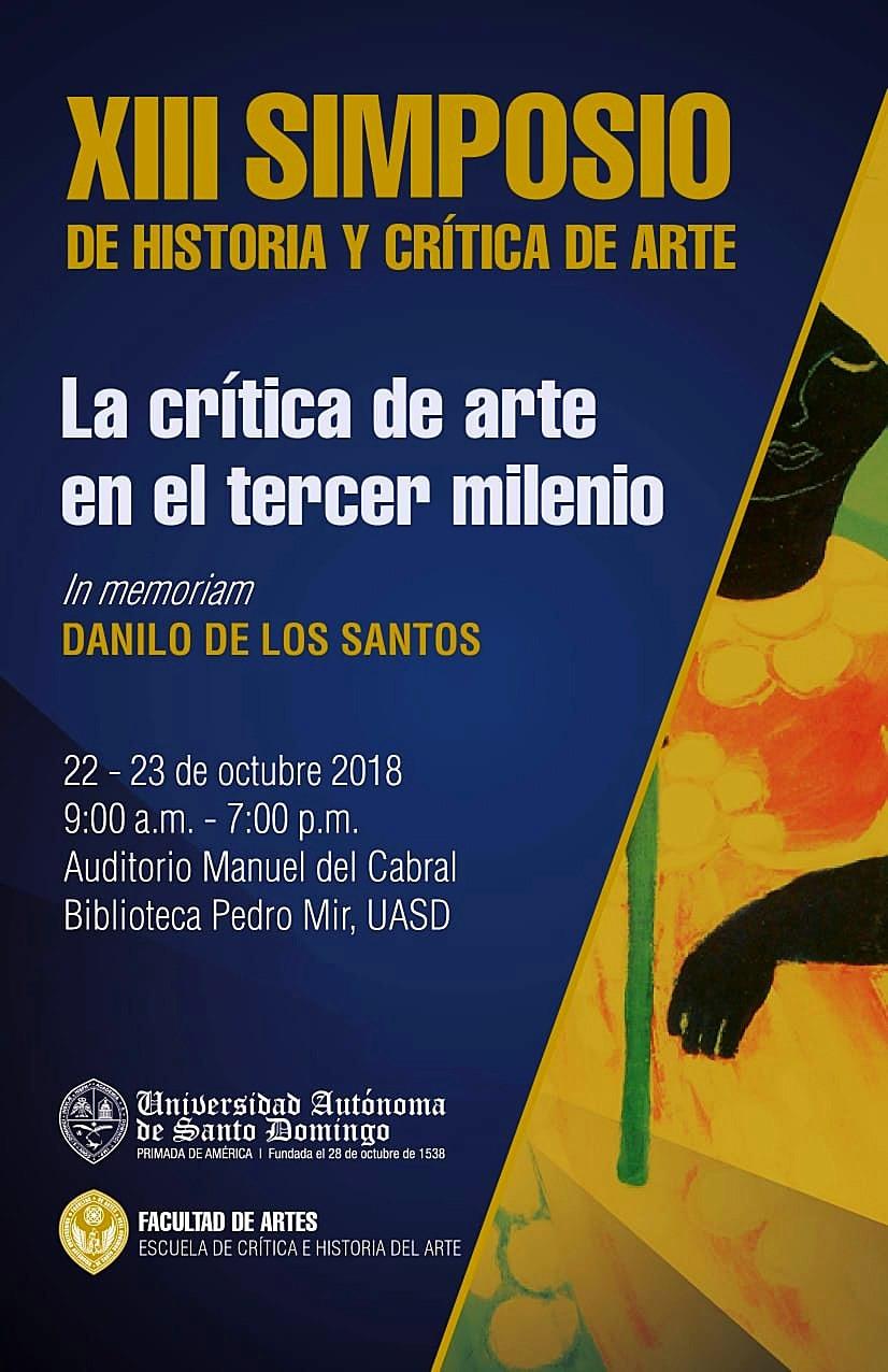 XIII Simposio de Historia y Crítica de Arte