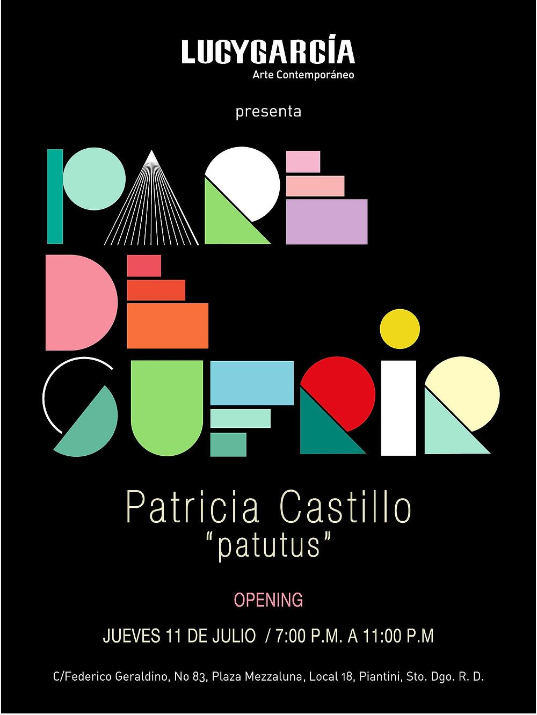 """Pare de sufrir / Patricia Castillo """"Patutus""""Lucy García"""
