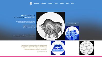 Angel Urrely en OCA / At OCA Angel Urrely / 175 Lunas en la caja del cuerpo / 175 Moons in the body