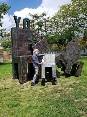 La Conciencia Empírica / YO, TU, EL, NADIE. Museo de Arte Moderno, (MAM) de Santo Domingo, RD.