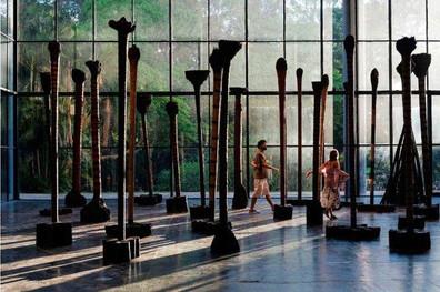 La bienal de São Paulo busca compensar a los 'olvidados' del arte latino   The biennial of São Paulo