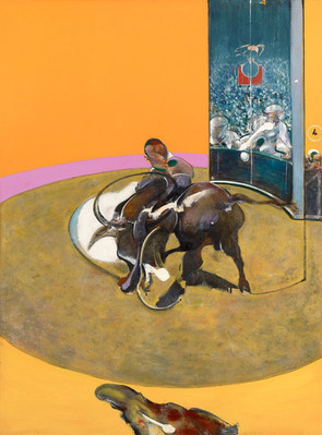 Gran Espectáculo de Francis Bacon explorando la  fascinación de los animales por la carne