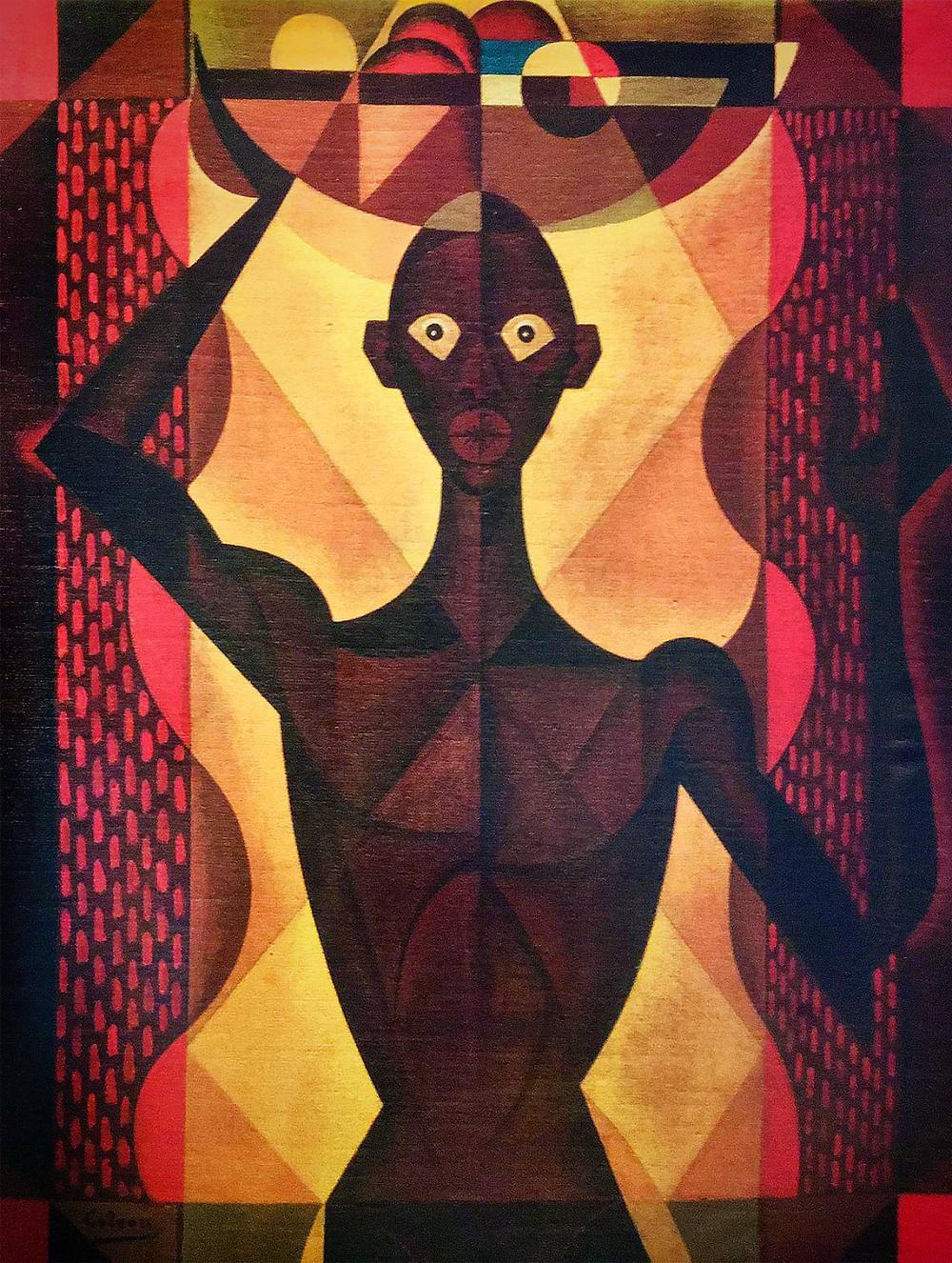 """De laa serie haitiana / 32'x24.5""""/ Óleo sobre tela"""