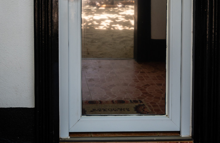 Privacy glass and double pane windows!