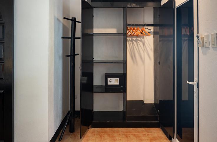 Storage and mini bar