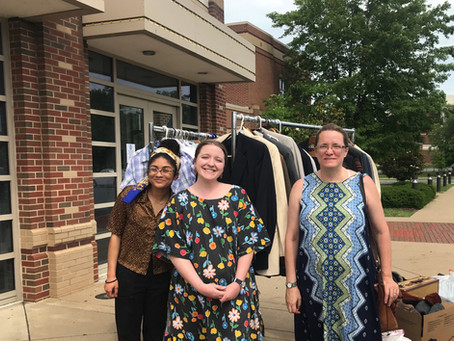Peter Bullough Foundation Donates Clothing to Shenandoah Conservatory Theatre Division