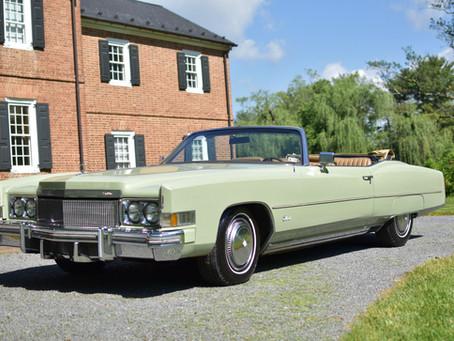 Cadillac Eldorado for Auction Benefitting the Peter Bullough Foundation