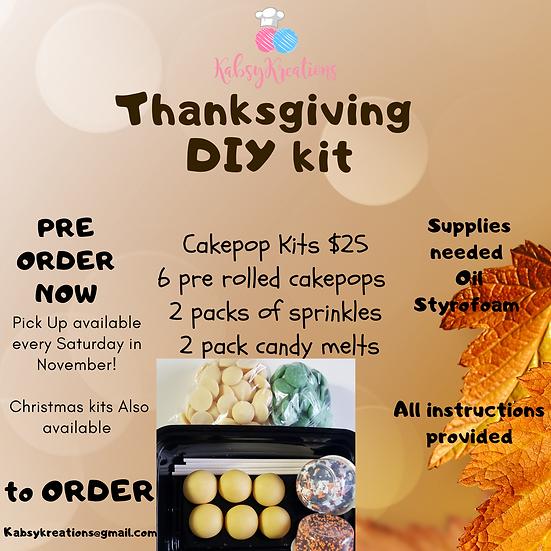 Thanksgiving theme DIY kit