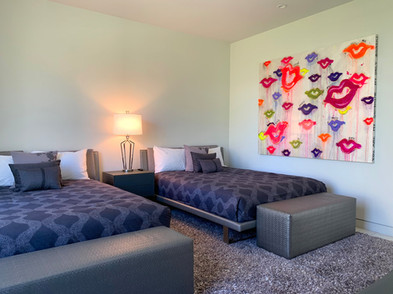 Abstract Custom Commission Installation