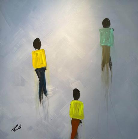"Blurred Lines ""Figurative Series"""