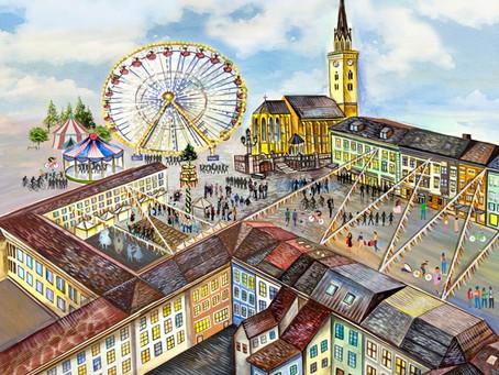 One day in Villach - Von der Skizze bis zur Fertigstellung (Teil 1)